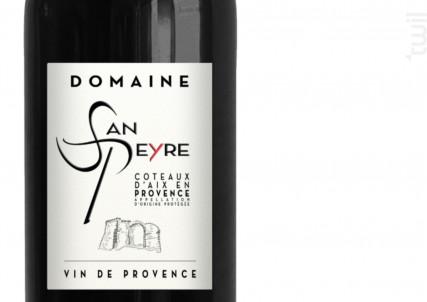 DOMAINE SAN PEYRE - Les Vignerons du Roy Rene SCA - 2015 - Rouge