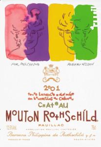 Château Mouton Rothschild - Château Mouton Rothschild - 2001 - Rouge