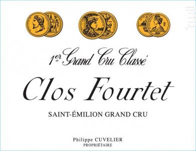 Clos Fourtet - Clos Fourtet - 2018 - Rouge