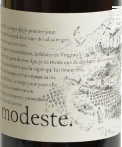 Modeste - Hervé Bizeul - Le Clos des Fées - 2020 - Rouge