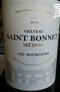 Château Saint Bonnet - Château Saint Bonnet - 2015 - Rouge