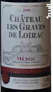 Château Les Graves de Loirac Cru Artisan - Château Les Graves de Loirac - 2008 - Rouge