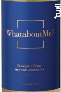 WhataboutMe? - Alpasión - 2019 - Blanc