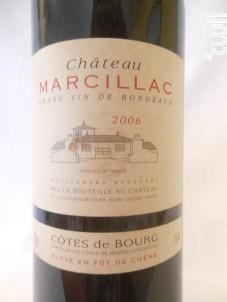 Château Marcillac - Château Moulin d'Eyquem - 2006 - Rouge