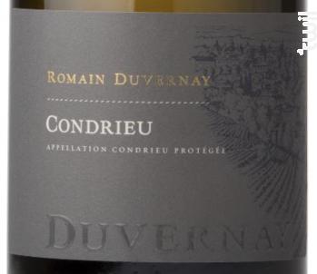 Condrieu - Romain Duvernay - 2018 - Blanc