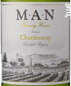 Padstal - chardonnay - MAN FAMILY WINES - 2020 - Blanc