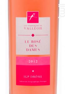 ROSE DES DAMES - Les Vignerons de Valleon - 2019 - Rosé