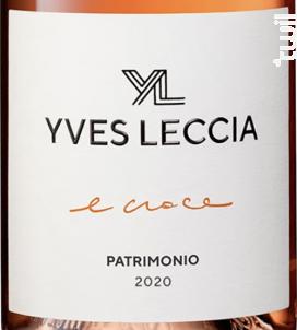 E Croce - Yves Leccia - 2020 - Rosé