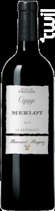 Merlot - La Référence - Bernard Magrez - 2016 - Rouge