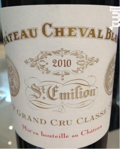 Château Cheval Blanc - Château Cheval Blanc - 2010 - Rouge