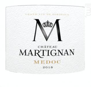 Médoc Château Martignan - Château Martignan - 2017 - Rouge