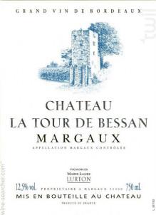 Château La Tour de Bessan - Grands Vins de Lucien Lurton & Fils - 2016 - Rouge