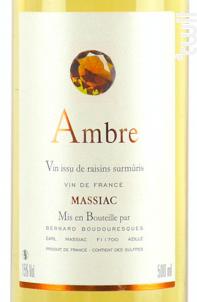 Domaine de Massiac AMBRE Vendange Tardive - Château Massiac - Non millésimé - Blanc
