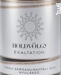 EXALTATION - MUSCAT - HOLDVÖLGY - 2014 - Blanc