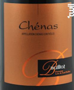 Chénas - Domaine Bulliat - 2018 - Rouge
