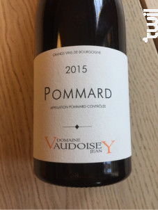 Pommard - Jean Vaudoisey-Berget - 2015 - Rouge