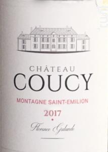 Château Coucy - Château Coucy - 2017 - Rouge