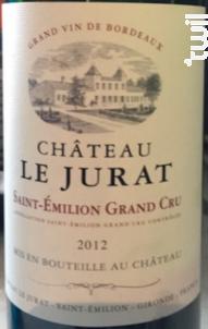 Château Le Jurat - Château Le Jurat - 2012 - Rouge
