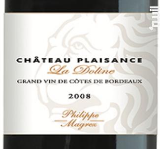 Château Plaisance La Doline - Bernard Magrez- Château Plaisance - 2011 - Rouge