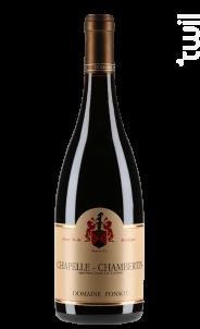 Chapelle-chambertin Grand Cru - Domaine Ponsot - 2013 - Rouge