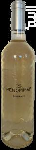 La Renommée - Château La Renommée - 2018 - Blanc
