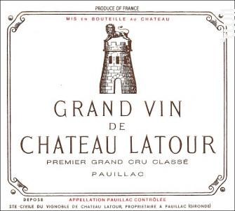 Château Latour - Château Latour - 2010 - Rouge