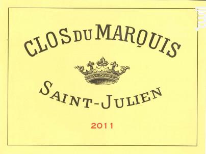 Clos du Marquis - Château Léoville Las Cases - 2011 - Rouge