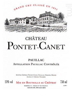 Château Pontet-Canet - Château Pontet-Canet - 2018 - Rouge
