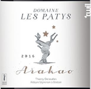 ARAKAO - Domaine Les Patys - 2017 - Rouge