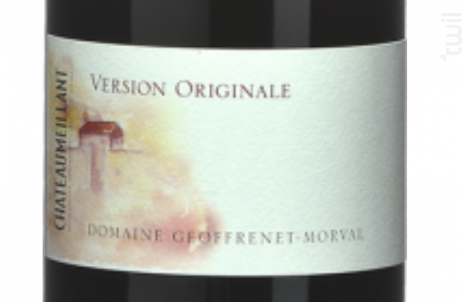 VERSION ORIGINALE - Vignobles Joseph Mellot - 2016 - Rouge
