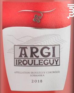 Argi - Cave d'Irouleguy - 2018 - Rosé