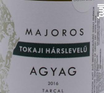 Agyag Tokaji Harslevelu - Majoros - 2016 - Blanc
