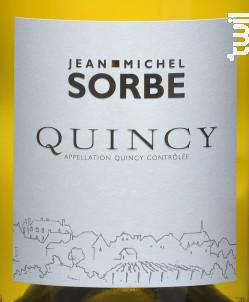 Quincy - Domaine Jean-Michel Sorbe - 2018 - Blanc