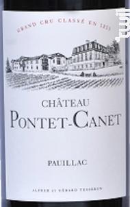 Château Pontet-Canet - Château Pontet-Canet - 2014 - Rouge