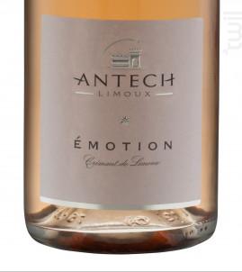 Cuvée Emotion Rose Brut - MAISON ANTECH LIMOUX - 2016 - Effervescent