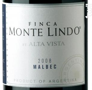 Alta Vista Monte Lindo - Alta Vista - 2015 - Rouge