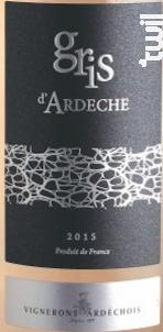 Gris D'ardèche - Vignerons Ardéchois - 2017 - Rosé