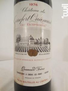 Château De Terrefort-quancard - Château de terrefort-quancard - 1966 - Rouge