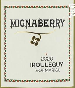 Mignaberry - Cave d'Irouleguy - 2020 - Rosé