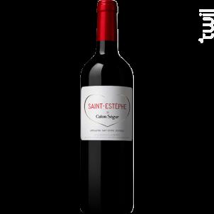 Saint-Estephe de Calon Ségur - Château Calon Ségur - 2017 - Rouge