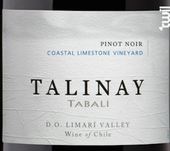 Talinay - pinot noir - TABALI - 2015 - Rouge