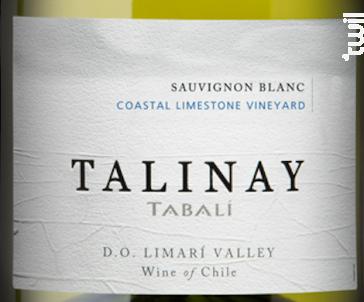 Talinay - sauvignon blanc - TABALI - 2014 - Blanc