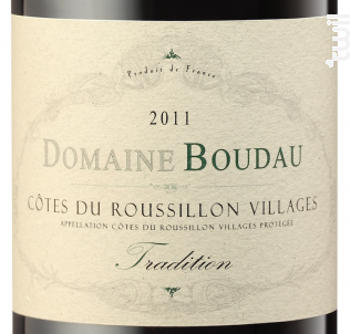 Tradition - Domaine BOUDAU - 2016 - Rouge
