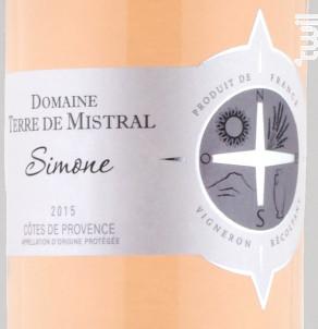 Simone - Domaine Terre de Mistral - 2018 - Rosé