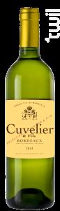 Cuvelier Et Fils - Blanc - Cuvelier & Fils - 2018 - Blanc