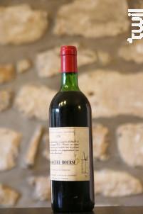 Château Cure-Bourse - Domaine Cure Bourse - 1979 - Rouge