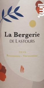 LA BERGERIE DE LASTOURS - Château de Lastours - 2019 - Blanc