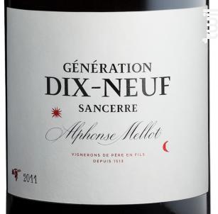 Génération XIX - Alphonse Mellot - 2015 - Rouge