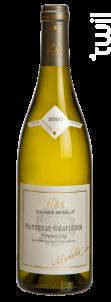 Santenay-Gravières Premier Cru - Domaine Michelot - 2015 - Blanc
