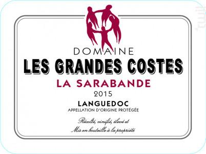 La Sarabande - LES GRANDES COSTES - 2017 - Rouge